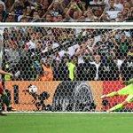 Pic: Cristiano scoring the 1st Penalty vs Poland https://t.co/IA4n8TuaK1