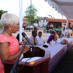 Nuestra honorable Alcaldesa @JeannetteML_ con palabras centrales en inauguración #ParqueLosCorales https://t.co/E05ZNGeUNx