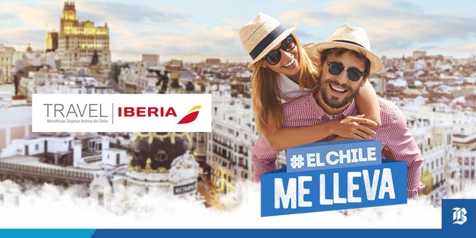 Si hoy verás #Vértigo2016, tuitea usando #ElChileMeLleva y podrás ganar un pasaje doble a Madrid vía Travel Iberia https://t.co/yLRNGvCZtz