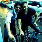 "RT @iamsrk: Bhai bhai on bike bike. No pollution…bhai says ""Michael Lal Cylcle Lal."" https://t.co/GdD6RwSe9V"