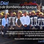 Un abrazo cariñoso a Bomberos  de #Iquique por su labor abnegada y comprometida que desarrollan @cbi_iqq https://t.co/rTSULwZ1Wf
