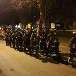 #TEMUCO #Bomberos en romería al Cementerio General . A rendir honores a los Mártires https://t.co/xQAl3tlQBZ