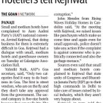 Goa Doing business in State very difficult, small hoteliers tell Kejriwal https://t.co/0jHq1unE9u