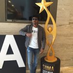 Hola!!! An all excited @Siva_Kartikeyan #Remo arrives @siima https://t.co/eNuKmR5W9m