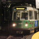 .@MBTA says #GreenLine service is suspended between Park Street, Haymarket: https://t.co/u8ny60p07C #WCVB #Boston https://t.co/zWagq7ogw1
