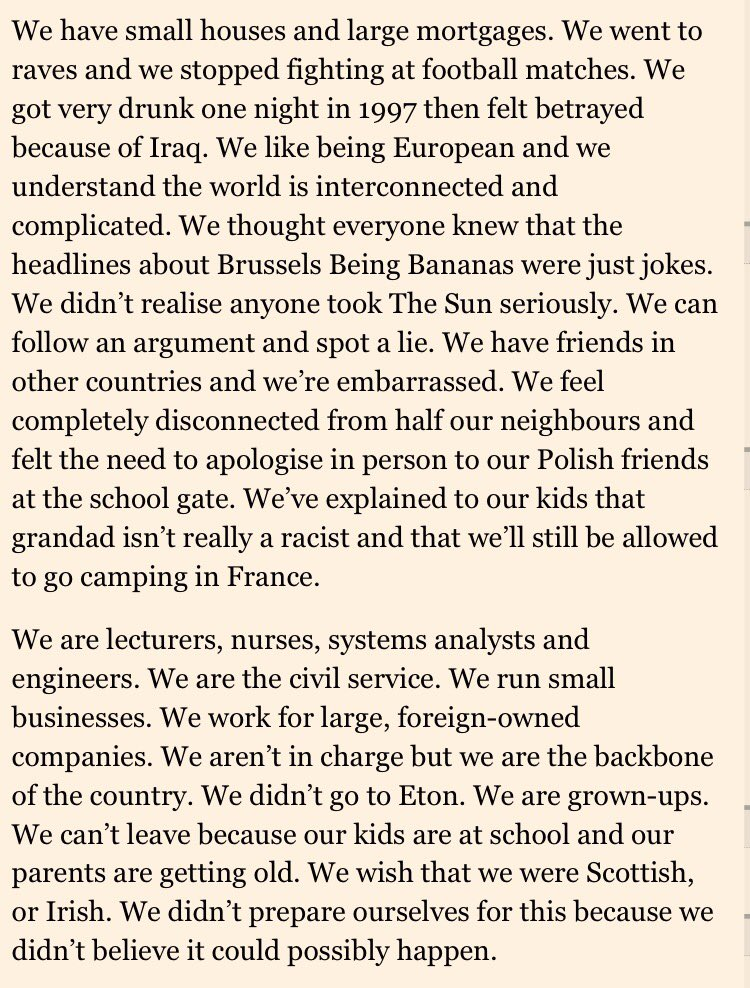 We are the 48, and we want our country back. Letter in today's @FT https://t.co/rZWhxM4c1A https://t.co/GWhcaEaNaM
