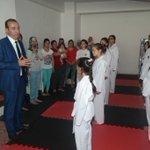 ++ Sporcu, sağlıklı ve yetenekli bir nesil yetiştirmek adına teakwondo kursumuzunda açılışını yaptık. Hayırlı olsun. https://t.co/ZFlMfpBcNc