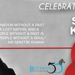 HAPPY SIR SERETSE KHAMA DAY! #SSKD #HappyHolidays https://t.co/GnXXZFNu5h