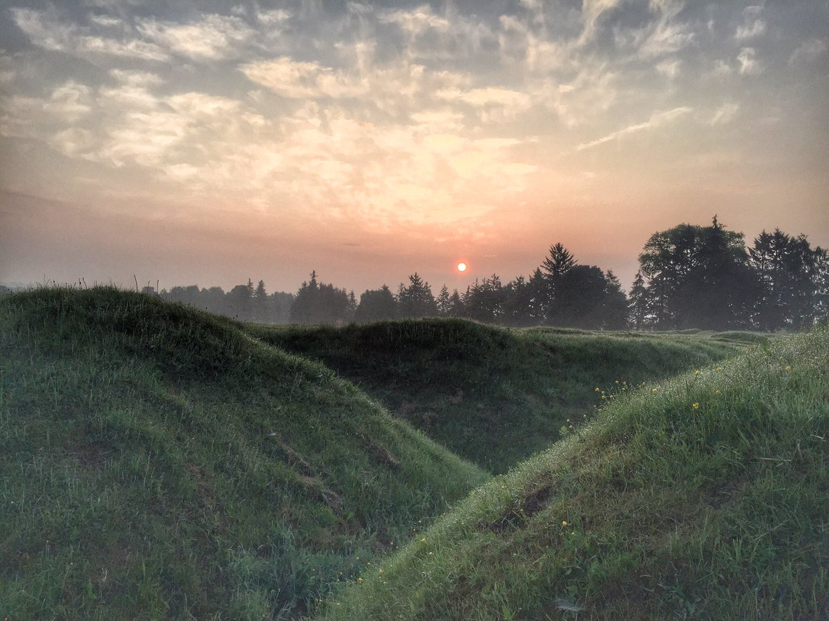 1 July: dawn breaks in the trenches on the #Somme... The Big Push has come & Zero Hour approaches. #Somme100 https://t.co/aSfQmfIOQD