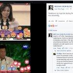 Kung fb reactions lang din naman pala ang basehan ng pagluklok sa mga pulitiko eh bakit pa tayo bumoto Mocha? https://t.co/ykSCBcHrY9
