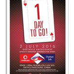 July Fever is officially upon us... tomorrow is raceday! #VDJ2016 https://t.co/LcY5vmcZxu
