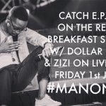 DONT MISS IT!!!!!!!! TODAY!! 9:30am - 10:00am on @TheRealYaronaFM w/ @Dollarmac & @zizipanther08  EXCLUSIVE #MANONG https://t.co/cu5KvWi02C