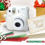 Post a pic from this album https://t.co/HGwoqXaiNn & U could WIN this Mini Polaroid camera & 5K. #CrispnessInJuly https://t.co/xLUwBFpDNh