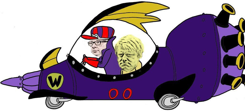 dick muttley Dastardly