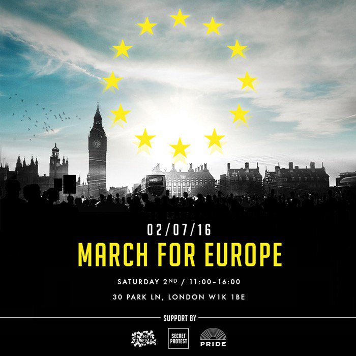 If you want change, don't sit there at your Twitter keypad. Come and MAKE A DIFFERENCE, tomorrow. #marchforeurope https://t.co/jcJuvACoFS