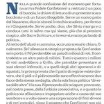 """""""Serve un nuovo patto del Nazareno, dice il vecchio scudiero Confalonieri, per fermare i Cinquestelle"""" LAMACA di… https://t.co/dfgp5eDKTC"""