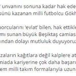 #Beşiktaştan Gökhan Gönül ile ilgili cümleler: https://t.co/IEiFPYKFHF