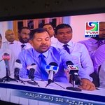 Dhaulathuge TV in vaki party ehge PG group ge press conference eh live koh mi gennany kon usoolakun? #corruption https://t.co/HQ8XXw2ItA