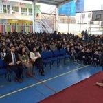 Niños y niñas de Colegio Adventista de #Iquique participan de acto cívico  por lanzamiento de #LeyDeAlimentos https://t.co/Pp7sHMycpJ