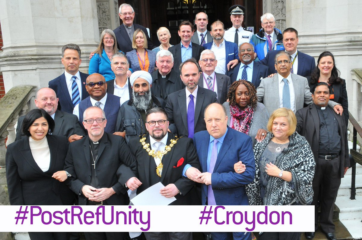 #Croydon united - standing together against hate crime https://t.co/sdPCeE0wPT https://t.co/1cDPx7BqID