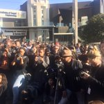 #BlackFriday news and solidarity with colleagues at #SABC what a lot of shutterbugs! https://t.co/jI6kYUbZGj