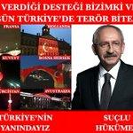 Dünya Teröre Karşı Türkiyeye Destek Verirken, Devlete Nerden Çakarım Diyen İçimizde Hainleri.. #ProtestoEdiyorum https://t.co/unX1L5YVJB
