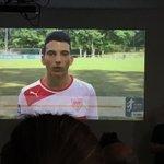 Schüler der Stuttgarter Cotta-Schule haben einige Sporttalente porträtiert - darunter auch Arianit #Ferati vom @VfB https://t.co/QisAU4zUCY