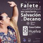 Aún puedes comprar entradas para el concierto de @faleteoficial y la Gala Gran Carnavalera https://t.co/JCSHUcPxf9