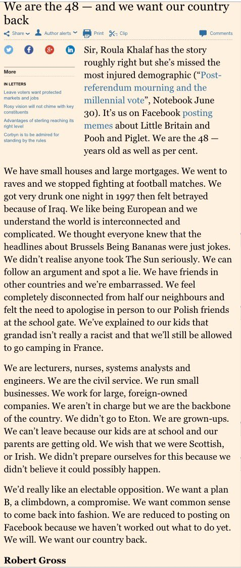 (and credit goes to Robert Gross who was the reader who wrote that @FT letter. Here it is in full) https://t.co/2Uh6AKGF3b