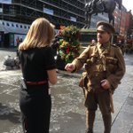 Very moving scenes in Glasgow this morning #wearehere #Somme100 https://t.co/0GIKR59zVZ