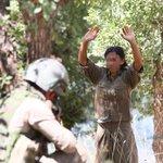 Diyarbakır Licede 5 terörist etkisiz hale getirildi, bir terörist yakalandı. Yakalanan kadın terörist. Fotoğraf #AA https://t.co/nEW4lEabjP
