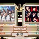 ขอแสดงความยินดีกับหนุ่มๆ EXO เพลง Monster ได้อันดับที่ 1 ในรายการ KBS Music Bank ประจำวันที่ 1 ก.ค. ???? #Monster9thWin https://t.co/MLFJSmkDU8
