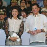 Pres. Rodrigo Duterte and VP Leni Robredo attended the AFP change of command ceremony this afternoon. | @lenirobredo https://t.co/PScTAGhx7u
