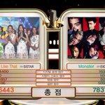 160701 EXO ชนะในรายการ Music Bank วันนี้และเป็น Triple Crown ครั้งที่ 2 ของเพลง Monster ค่ะ ???????????????????????????????????? #Monster9thWin https://t.co/V7vwQZDGXd