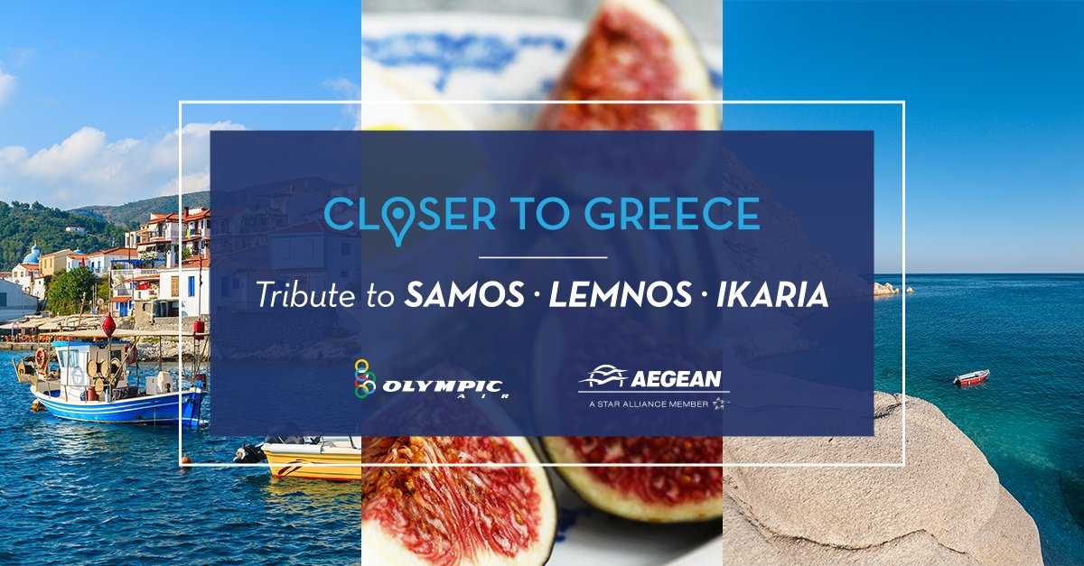 This July our tribute to Greece continues. Next stop: Samos, Lemnos & Ikaria!
