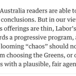 "an Australian-first? the Guardian endorses the Greens ""or others"" over Libs and ALP https://t.co/BadEHmTJqG https://t.co/N3WQa0yYFb"