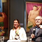 Persconferentie @kunsthal met #FernandoBotero deze zomer in #Rotterdam #CelebrateLife #zomer 2016 https://t.co/ZmKsQc1k3N