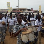 Volta Region #9 Is Here Day 1 of #GhanaCarnival2016 happening now at MANTSE AGBGONAA. . Join us Now @AbeikuSantana https://t.co/IZWAnEsdKp