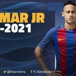 [OFFICIAL ANNOUNCEMENT] @NeymarJr will continue at @FCBarcelona until 2021 #Neymar2021 https://t.co/kuQEY9CDiE https://t.co/ASxjzWZfAa