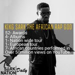 They keep throwing cheap shots but KING @sarkodie THE AFRICAN RAP GOD will keep making history. #SarkodieLiveCanada https://t.co/cNRQSnoVDh