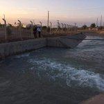 Güneş enerjisiyle çalışan Samsat pompa istasyonu faaliyete geçti ve 4 yıl sonra kanallara su verilmeye başlandı. https://t.co/uKSsxNbRu0