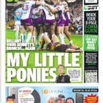 Saturdays @couriermail back page: @brisbanebroncos blown away by @storm as Bellamy maintains his dominance v Bris https://t.co/vr9sCvUY4Z