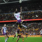 Cronk had 5 try assists. This was one of them. Full story - https://t.co/z6NoDa7mle #purplepride https://t.co/rrZ6vnFSQO