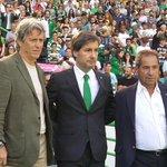 Jorge Jesus, Bruno de Carvalho e Octávio Machado estão preparados para a nova época! #ParabénsSporting https://t.co/rLJe6G4RQn