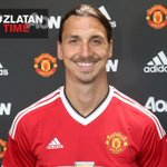 "Zlatan Ibrahimovic in the @ManUtd home shirt for the first time. ""Im ready to create special memories in England."" https://t.co/bHv5CcpRsv"