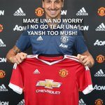 Manchester United don Officially announce Papa Ibro. #MUFC #ZlatanTime https://t.co/8ebajt18Mh
