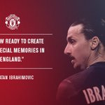 Zlatan cant wait to get started at #mufc! #ZlatanTime https://t.co/EN52TwYXa7
