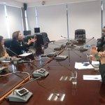 En mesa de trabajo con Intendenta presidente de Zofri y dirigentes sindicales de Zona Franca de #Iquique https://t.co/BdfX98Jio6