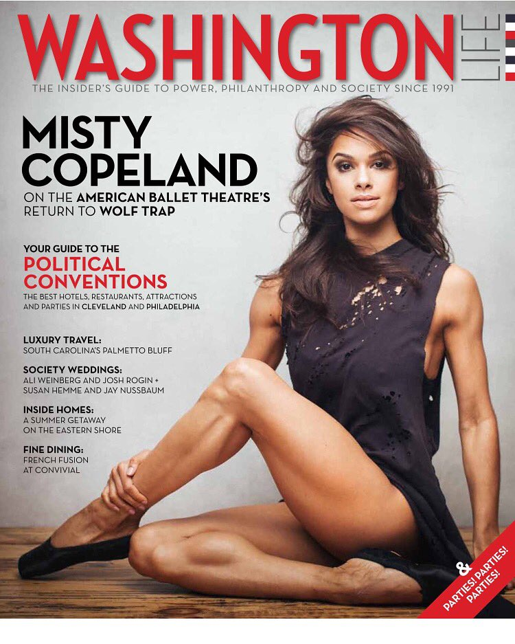 The incomparable @mistyonpointe  graces our July cover! Issue out today: https://t.co/ckTJauarZs https://t.co/xKznyTXA49