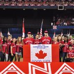 The Blue Jays presented @TeamCanada and @CDNParalympics with a signed banner to hang at the Canada house in Rio! https://t.co/PfLmg3mX9U